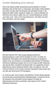 Newsletterproduktion München