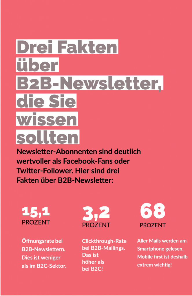 Newsletterproduktion